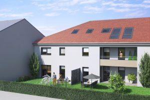 appartement neuf avec terrasse et jardin a oeutrange